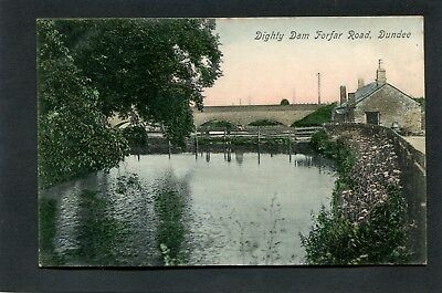 Dundee - Dighty Dam Forfar Road c1920 by Lundie