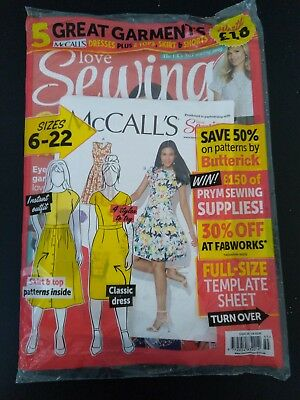Love Sewing Magazine Issue 55 2018