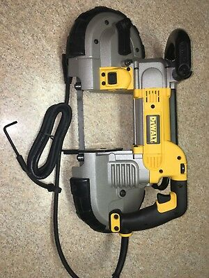 DeWalt DWM120 Heavy-Duty Variable Speed Deep Cut Portable Band Saw