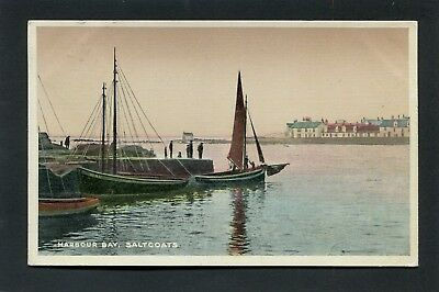Saltcoats Ayrshire - Harbour Bay p/u 1916