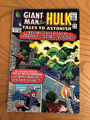 Tales To Astonish #69. 1965. Early Hulk Plus Giant-Man And The Wasp