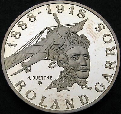 FRANCE 10 Francs 1988 Proof - Silver - Roland Garros - 2338 ¤