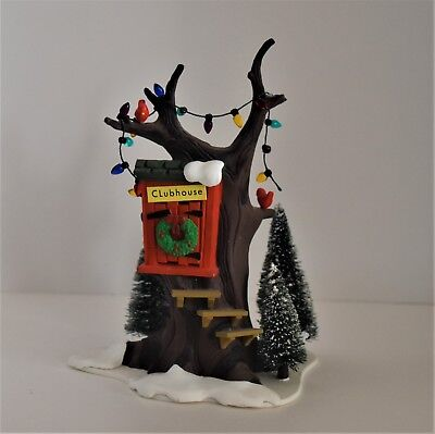 "Department 56 Original Snow Village ""kids Tree House"" #5168-3"