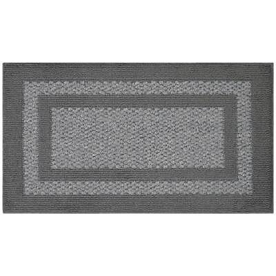 New Dash Albert Elliptic Indigo Woven Sisal Area Rug 2 X 3