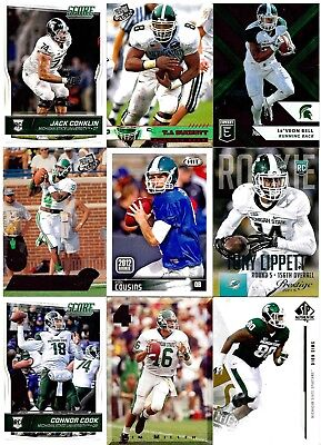 Michigan State Spartans Huge College Alumni Lot (60) Tony Mandarich Autograph