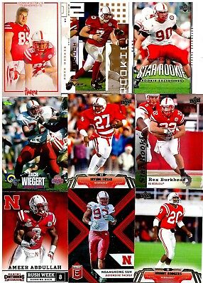 Nebraska Cornhuskers Huge College Alumni Lot (70+) (4) Autographs