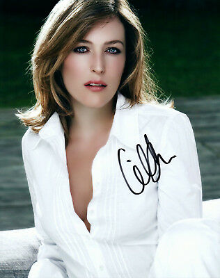 Gillian Anderson autographed 8x10 signed Photo Picture Pic and COA