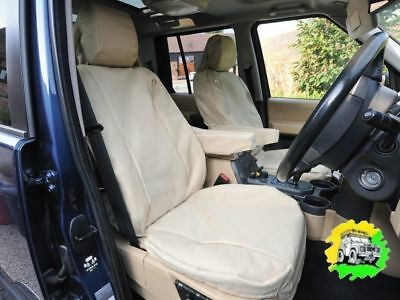 FRONT PROTECTIVE SEAT COVERS GENUINE ALL NEW DISCOVERY 5 VPLRS0335PVJ