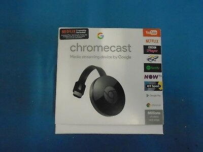 Google Chromecast 2nd Generation WiFi 1080P Wireless HDMI Media Streamer