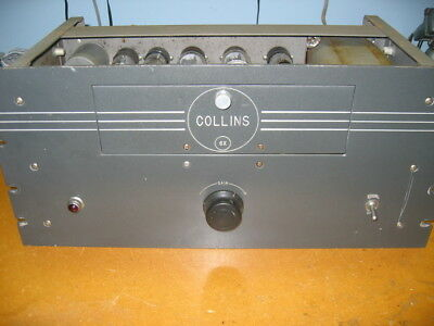 Collins 6X Monitor Amplifier 6L6 RCA outputs