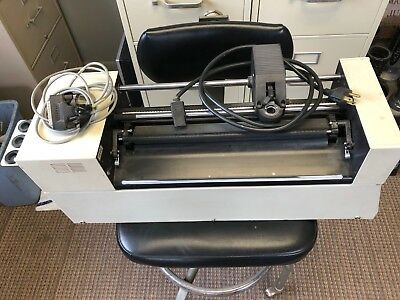 Gerber HS 15 PLUS Plotter USED *PARTS PLOTTER ONLY' Almost brand new drum