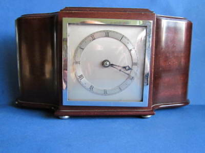 Old Russells Time O Day Quality Mantel Clock