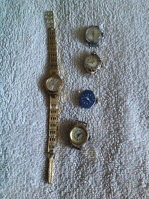Job lot of vintage ladies watches mechanical watches not working