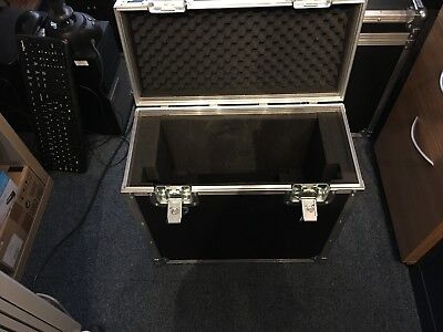 Heavy Duty Flight Case with top handle.  Fittings for Sony monitor