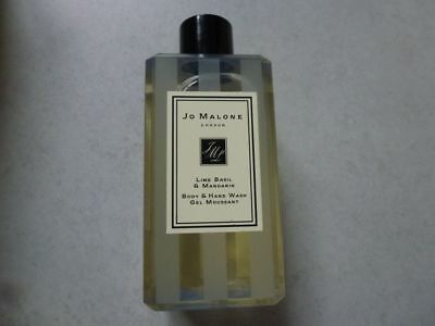 Jo Malone Lime Basil & Mandarin Hand & Body Wash, 100 ml. New & Boxed.