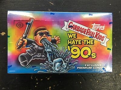 2019 Topps Garbage Pail Kids We Hate The 90's Collector Edition Box