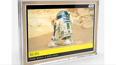 Topps Countdown Episode 9 Star Wars New Hope Galactic Moments R2D2 #13