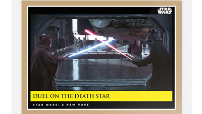 Topps Countdown Episode 9 Star Wars New Hope Moments Duel On Death Star #15