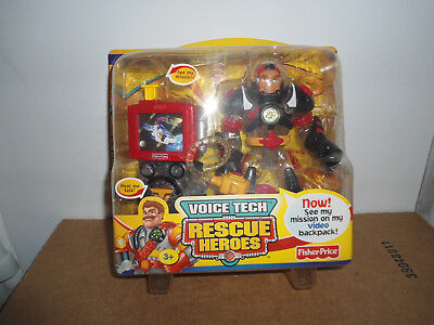 Fisher-Price Rescue Heroes - Roger Houston Astronaut - Voice Tech Video Mission
