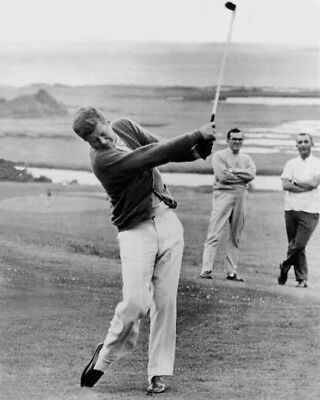 U.S. President JOHN F KENNEDY Glossy 8x10 Photo Golf Course Poster Print