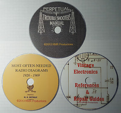 The Ultimate Riders & Beitmans Antique Radio Schematics - 50,000 pages! 35% OFF!
