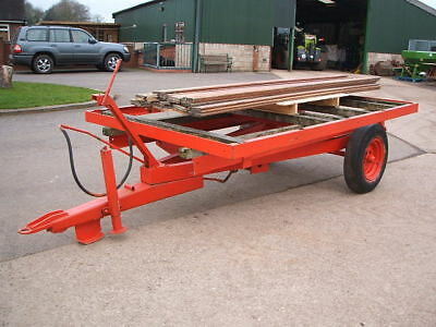 3/4 ton tipping trailer for tractor, project, horse manure muck