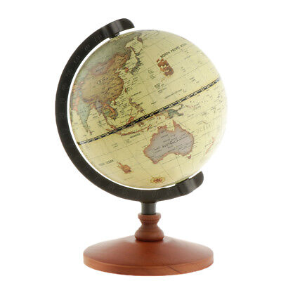 14cm World Earth Globe Map Geography Educational Toy With Stand Home Decor