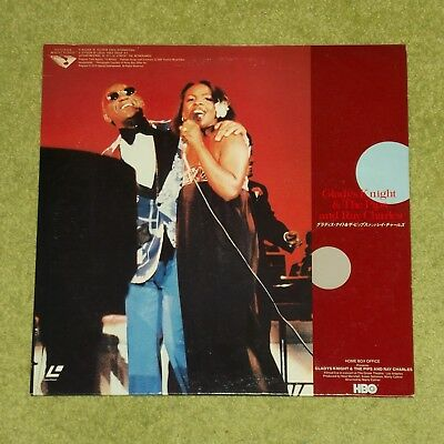 GLADYS KNIGHT & THE PIPS [and Ray Charles] - RARE 1985 JAPAN LASERDISC