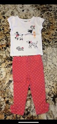 Gymboree Girls Outfit 12-18 Mo
