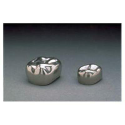 3M PDRP-EUR6 2nd Primary Molar Stainless Steel Crown Form, Upper Right 5/pk