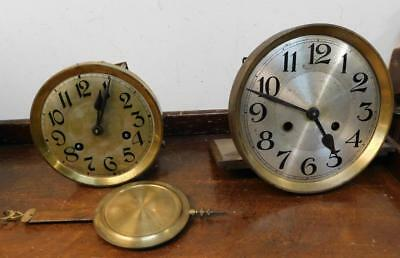 2 wall clock movements for spares