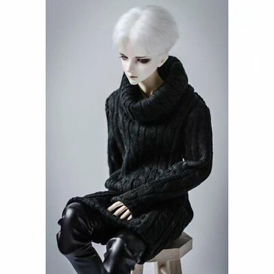 """BJD Casual Sweater Dark Red Outfits For 1//4 17/"""" 44CM MSD DK DZ Volks AOD Doll"""