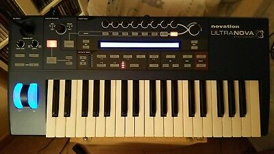 Synth Virtual Analog Novation Ultranova
