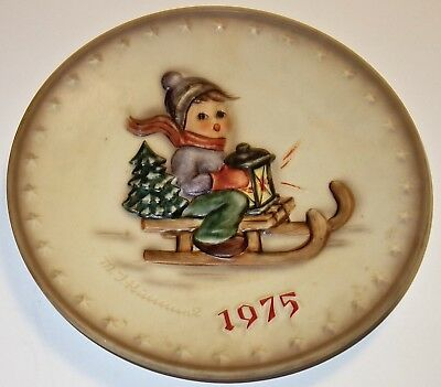 "VINTAGE Goebel HUMMEL 1975 5th ANNUAL #268  7-1/2"" COLLECTOR PLATE~LOT #3! NR!"