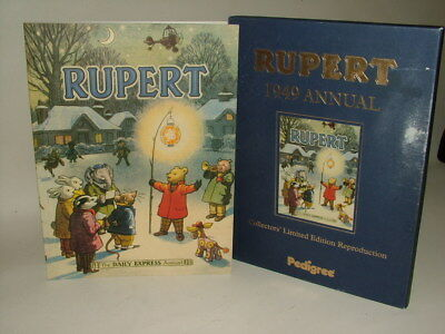 Rupert Annual 1949 Collectors Limited Edition Facsimile + Certificate