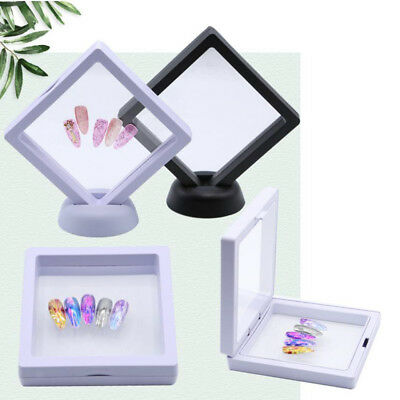 Nail Art Display Nail Sample Holder Stand /False Tips Display Training Tool
