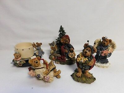 Boyds Bears & Friends ~ Group Lot Of 5 ~ The Bearstone Collection