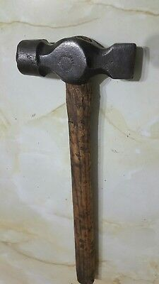 vintage unusual cross edging panel beating hammer whitehouse
