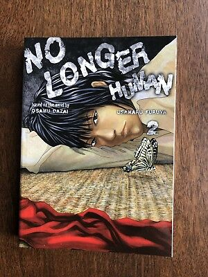 No Longer Human Volume 2 Usamaru Furuya RARE OUT OF PRINT MANGA