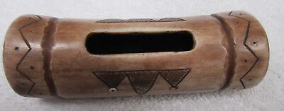 Very Nice Old Alaskan Antler Purse--Nr!