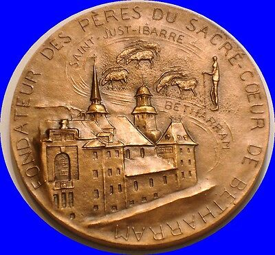 1977 SAINT MICHEL GARICOITS French Mint Art Medal France 1797 - 1863 GEM Bronze
