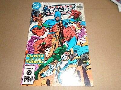 JUSTICE LEAGUE OF AMERICA #216 DC Comics 1983 VF/NM