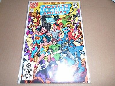 JUSTICE LEAGUE OF AMERICA #212 DC Comics 1983 VF