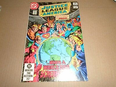 JUSTICE LEAGUE OF AMERICA #210 DC Comics 1983 FN/VF
