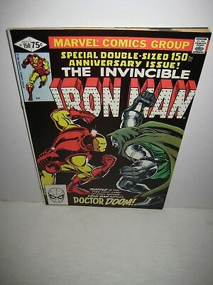 1981 Iron Man #150 Dr Doom Special Double-sized Anniversary issue Marvel