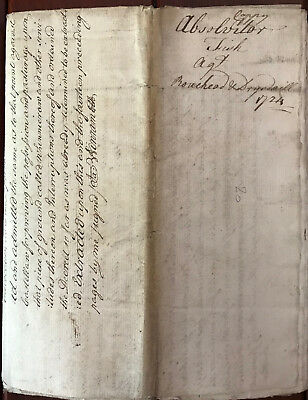 1724 document Richard clapperton of Wyliecleugh Berwickshire Scottish Borders