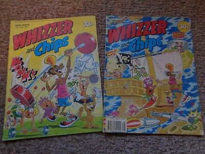 Whizzer And Chips Issues X 2 ~ June/july 1989
