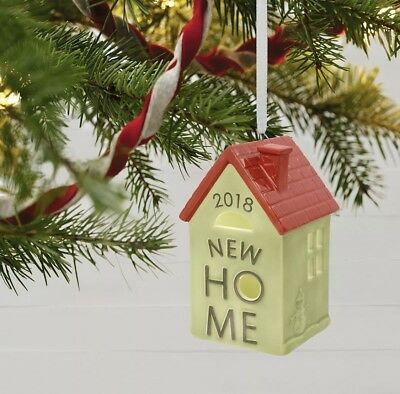 2018 Hallmark Keepsake Ornament New Home, New In Box, Ships Free!