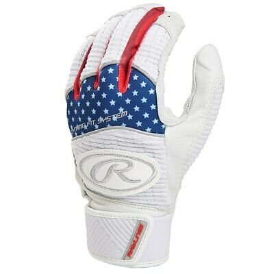 Rawlings Workhorse Youth Baseball Batting Gloves - Various Colors (NEW) List@$40