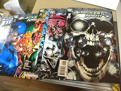 DC 2009 Geoff Johns 6 of 8 issues GREEN LANTERN BLACKEST NIGHT #1 3 4 5 6 7 8 +2